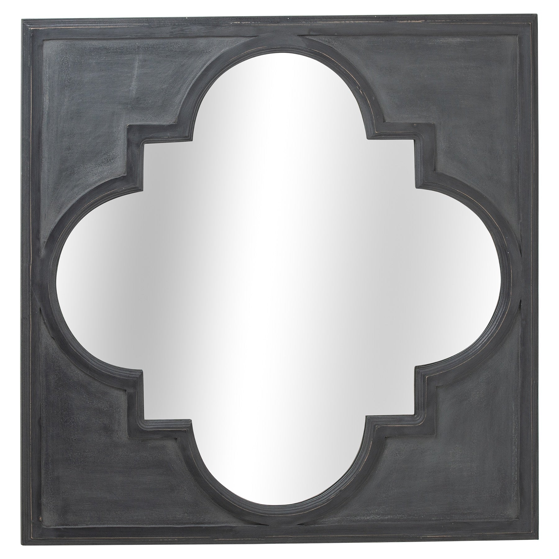 Trefoil Framed Mirror
