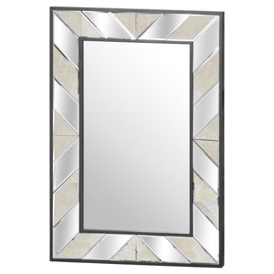 The Soho Black Collection Large Mirror