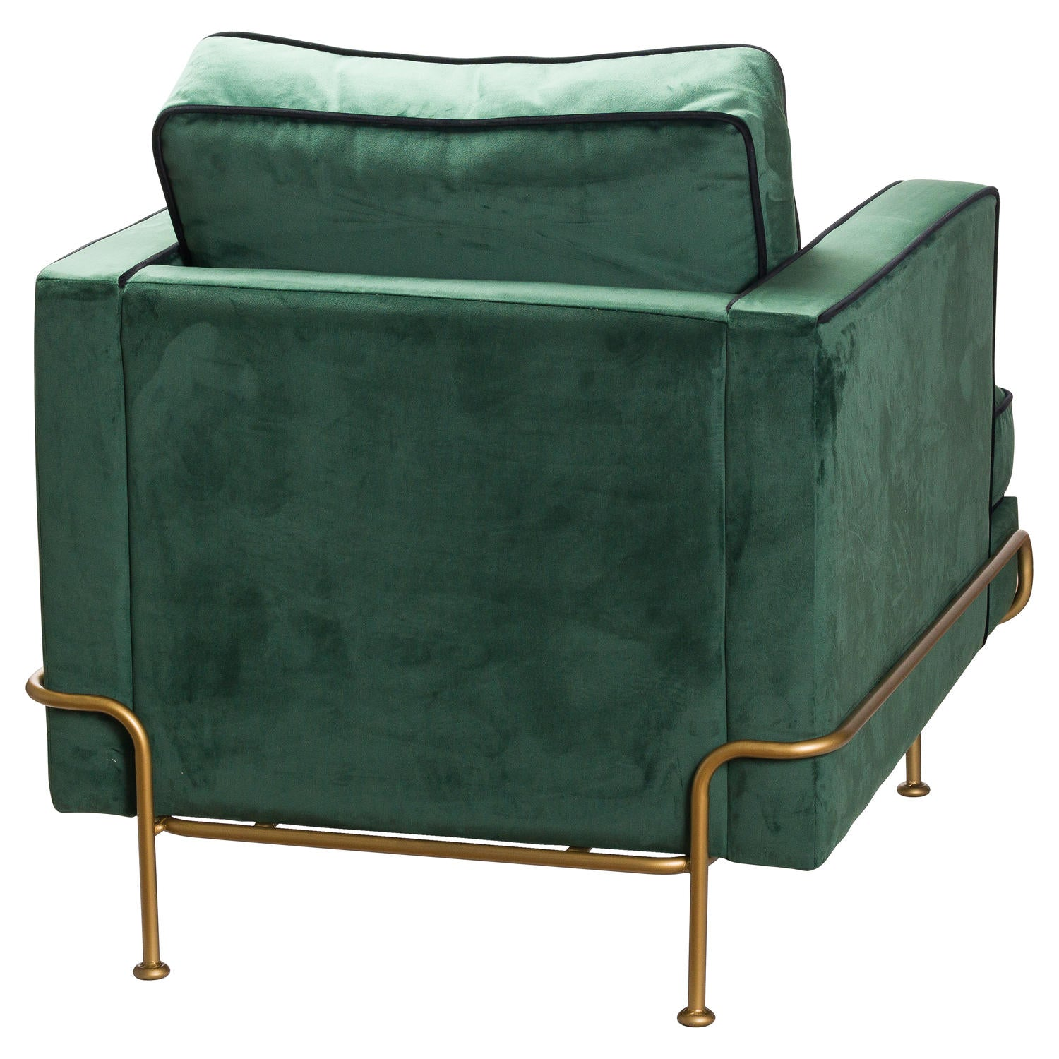 The Arden Emerald Green Velvet Armchair