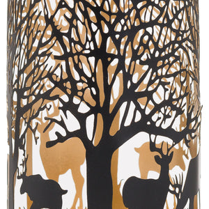 Large Glowray Stag in Forest Lantern