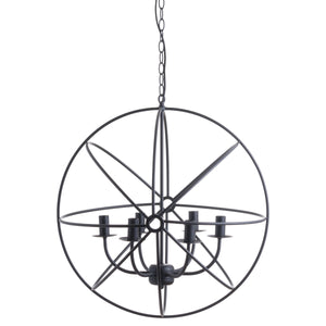 Spherical Round Industrial Chandelier
