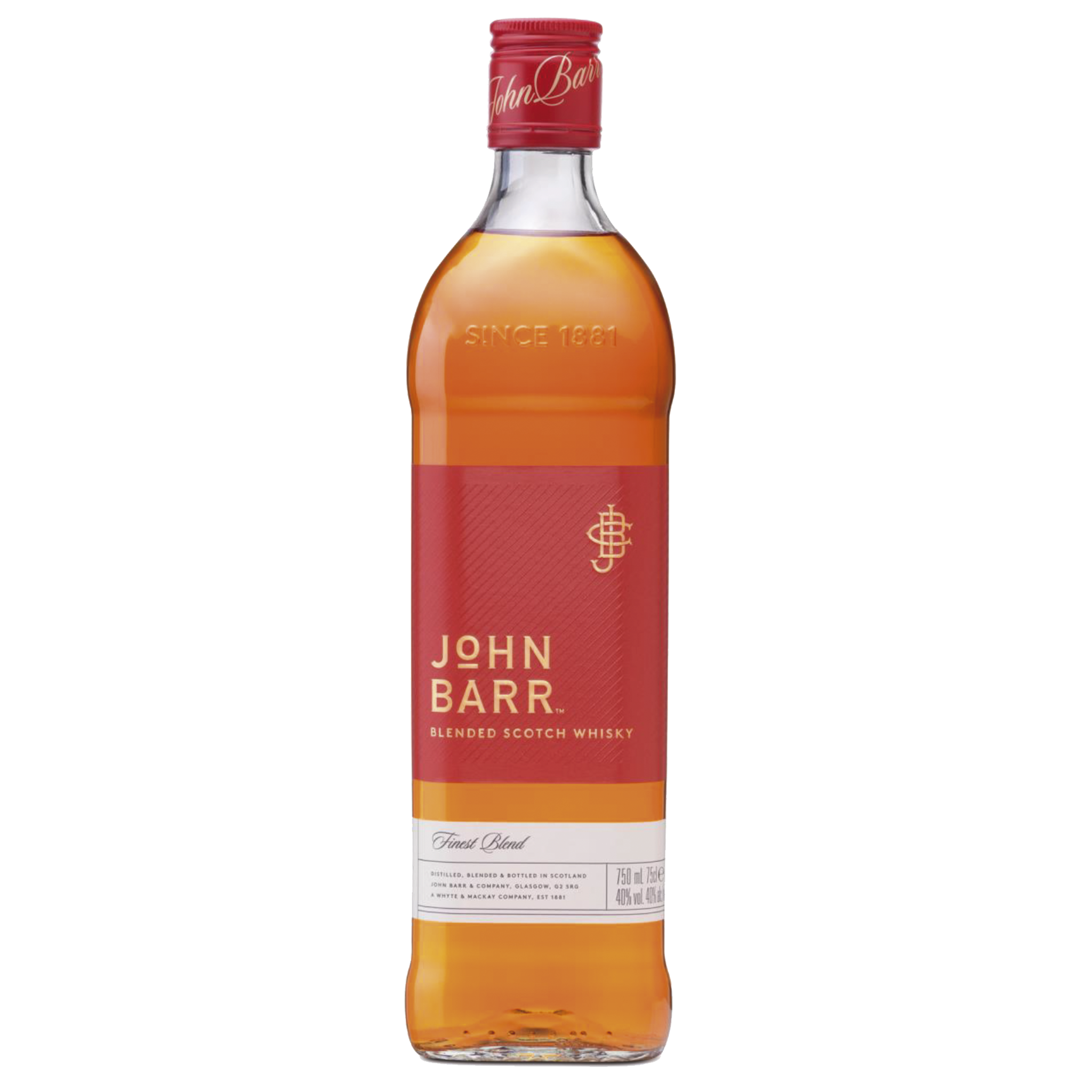 JOHN BARR RED x 750ML