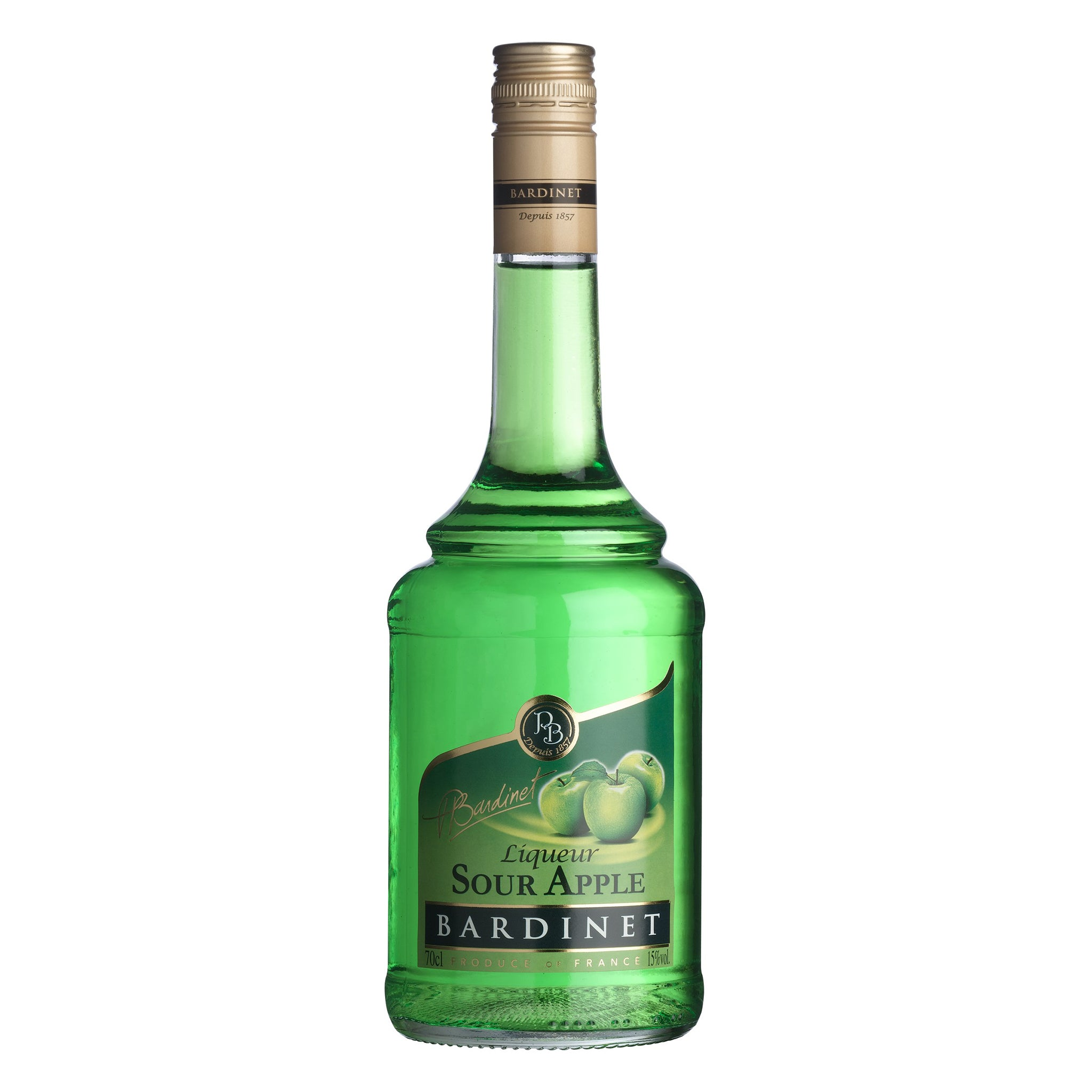 LICOR BARDINET SOUR APPLE x 700ML