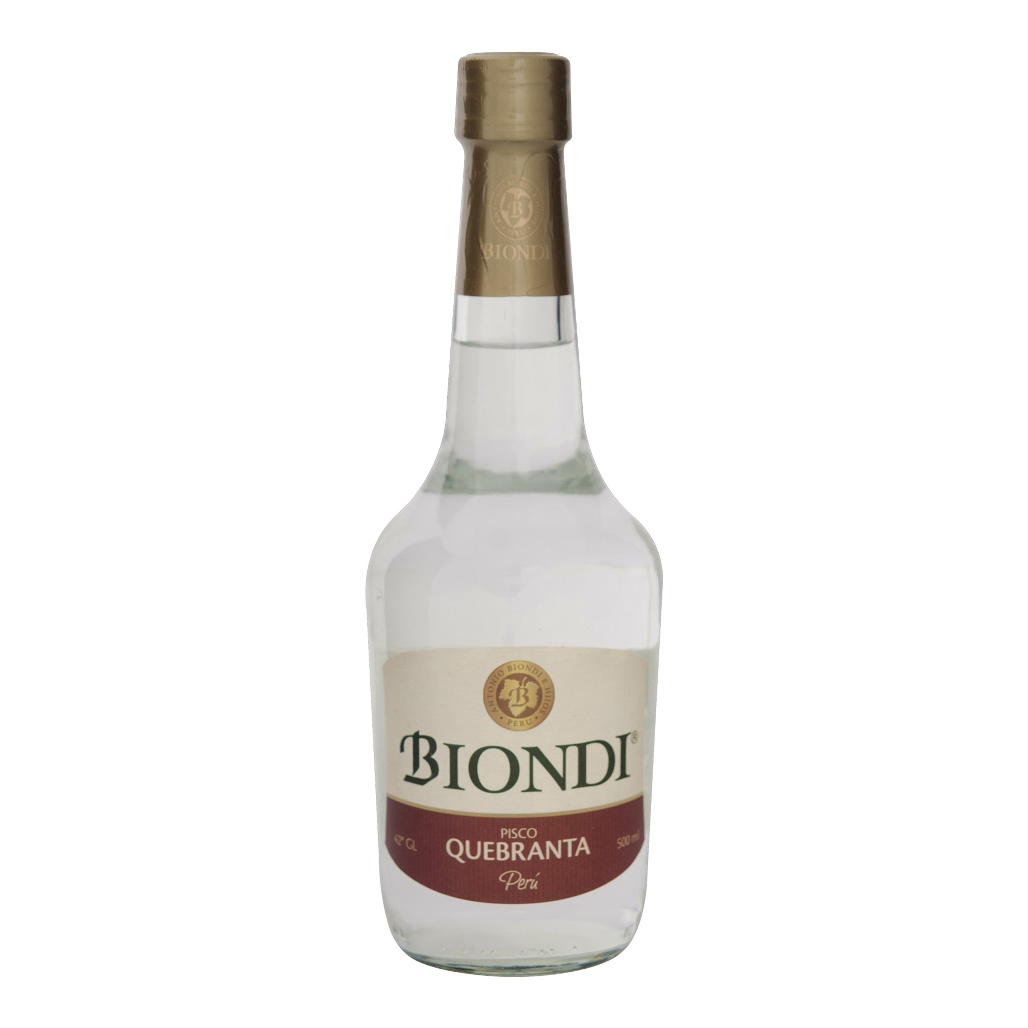 PISCO BIONDI QUEBRANTA x 500ML