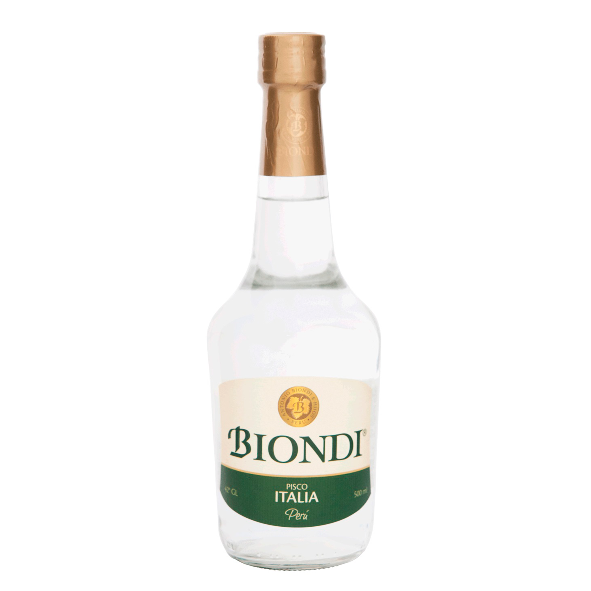 PISCO BIONDI ITALIA x 500ML