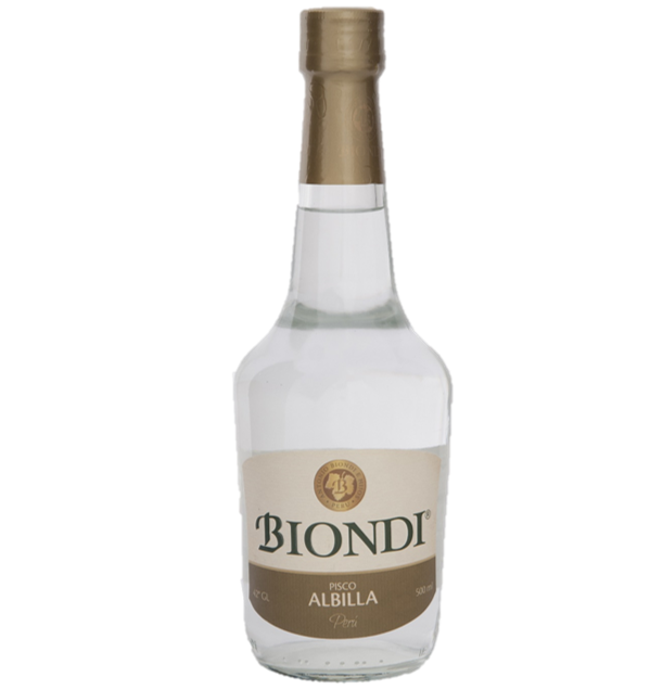 PISCO BIONDI ALBILLA x 500ML
