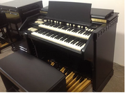Custom Stain Black Hammond C3 organ & Leslie Speaker