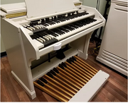 Custom Ivory Hammond C3 Organ
