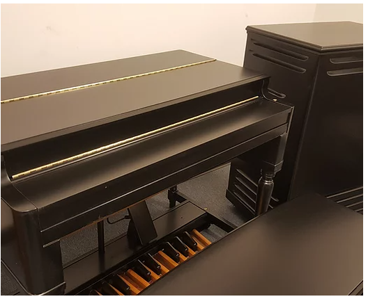 Custom Black Hammond B3 and Leslie Speaker