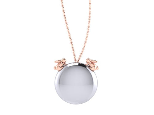 Bunnies necklace