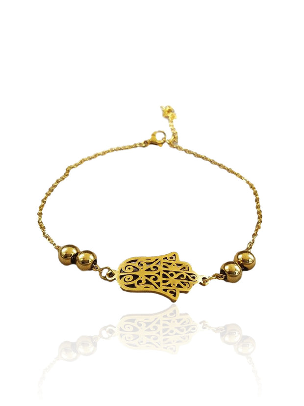 Bracelet <br> Main de Fatma <br> Or
