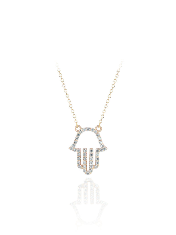 Collier <br> Main de Fatma <br> Diamant