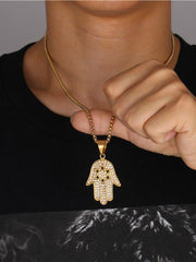Collier <br> Main de Fatma <br> Fin