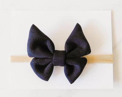 BUTTERFLY BOW - MIDNIGHT BLUE