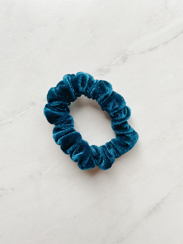MINI-BUBBA SCRUNCHIE, THE REAL TEAL