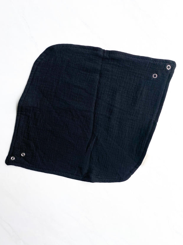 Lux Cotton Bibs - Black
