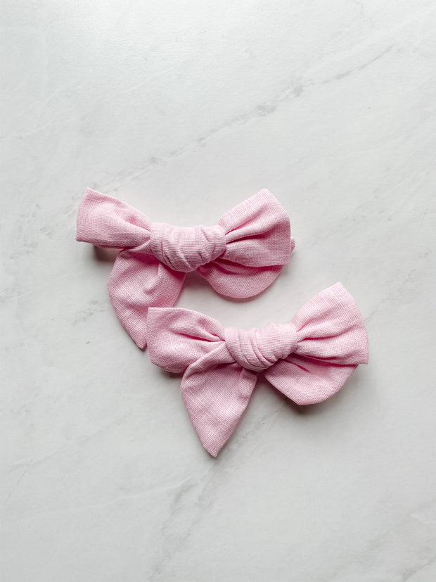 Ballet Slipper Linen - Clip Set of 2