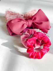 MINI-BUBBA SCRUNCHIE, WATERMELON