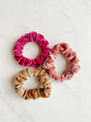 MINI-BUBBA SCRUNCHIE, STRAWBERRY MOUSSE