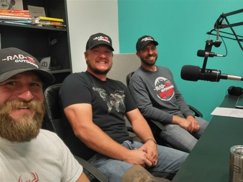 RadCast Oudoors Podcast with Brian Tucker Outdoor Filming Podcast