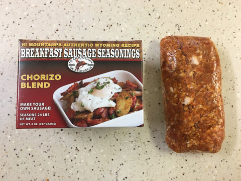 Chorizo Hi Mountain Seasonings