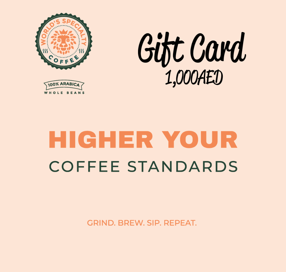 Gift Card - Worlds Specialty Coffee
