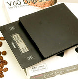 V60 Coffee Drip Scale Black - Worlds Specialty Coffee