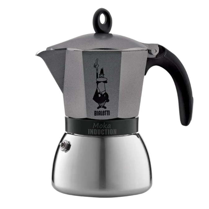 Bialetti Mocha Espresso Induction Maker 6 cups - Worlds Specialty Coffee
