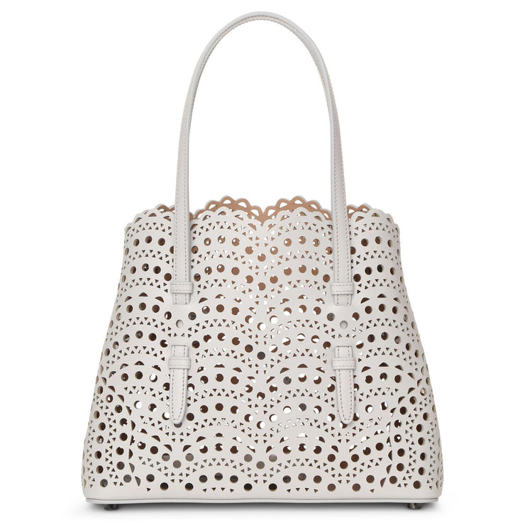 Mina Small light grey tote bag