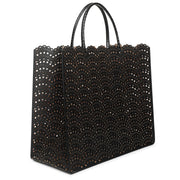 Garance Large black tote bag