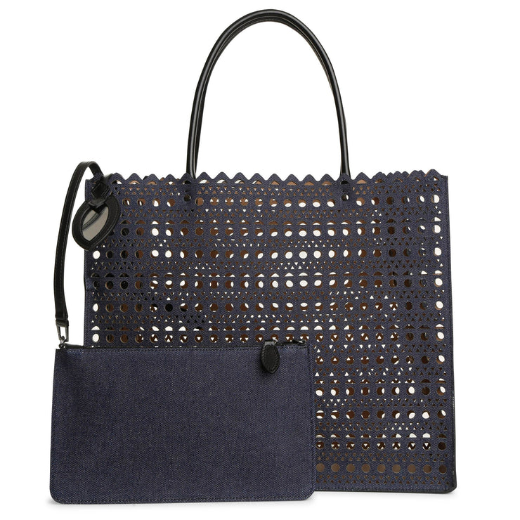 Garance 16 denim tote bag