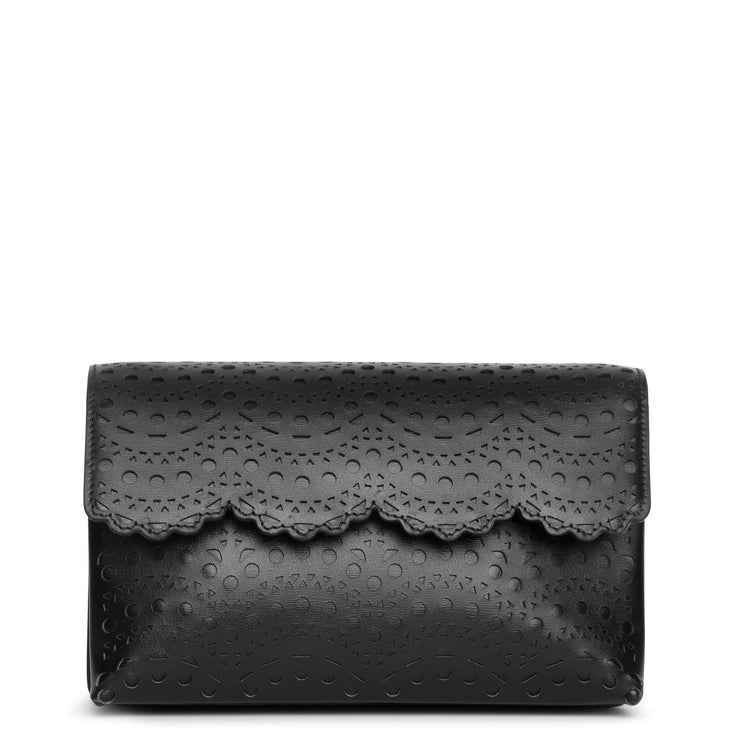 Lulu 22 black cross body bag
