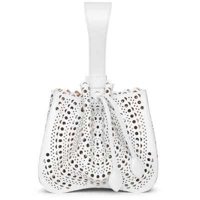 Rose Marie 19 blanc optique bracelet bag