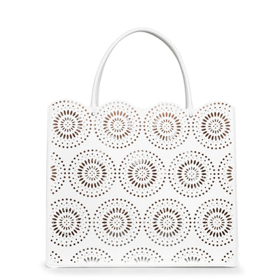 Garance 36 white tote bag