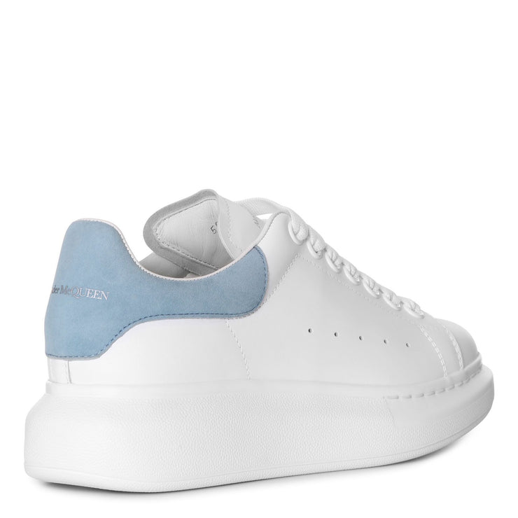 White and dream blue classic sneakers