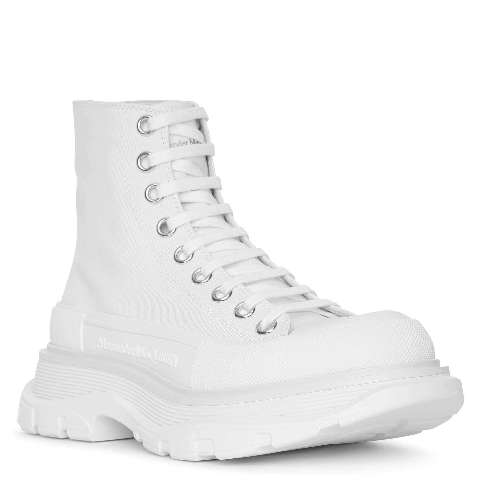 Tread slick boot white