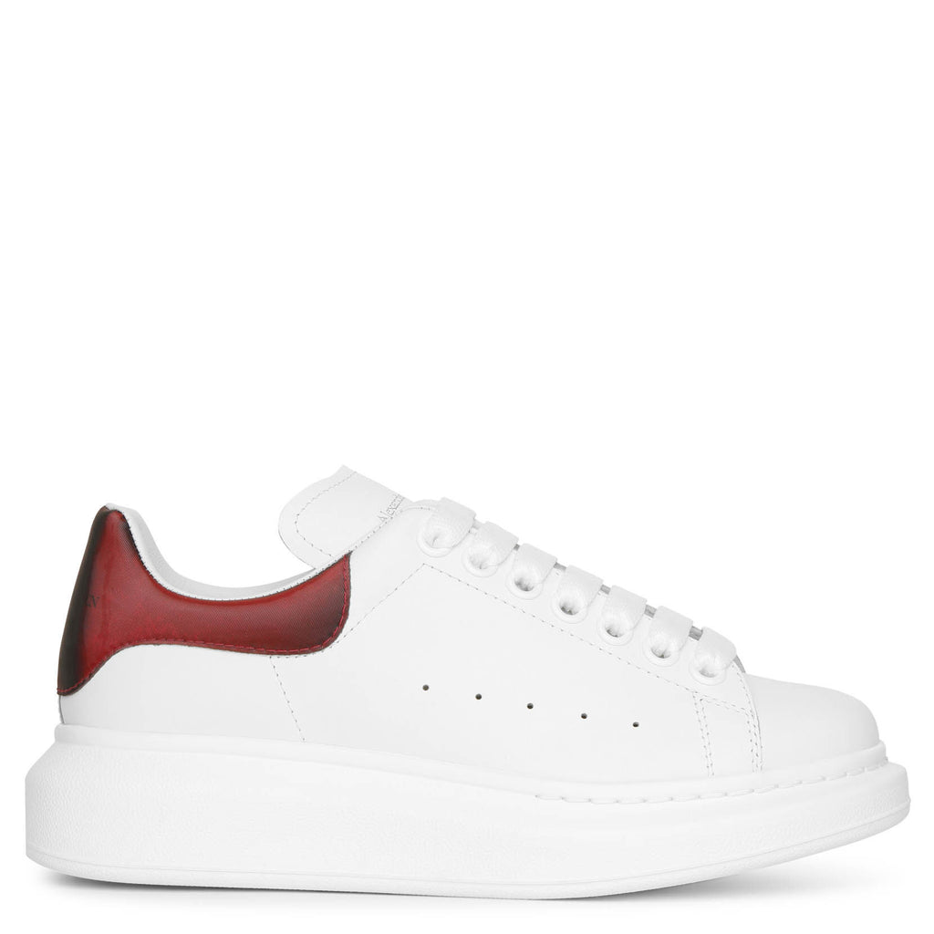 Alexander McQueen   White and lust red