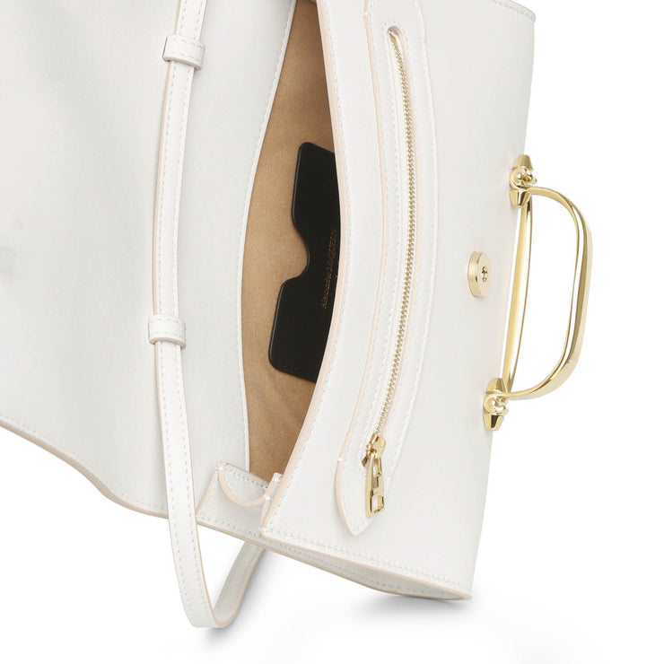 The Story small ivory crossbody bag