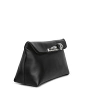 Four Ring black soft pouch
