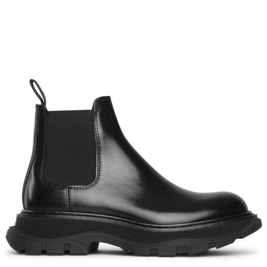 Tread chelsea leather boots