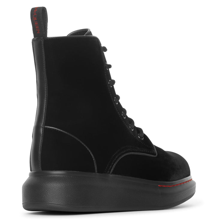Hybrid lace up boots