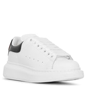 White and black classic heart sneakers