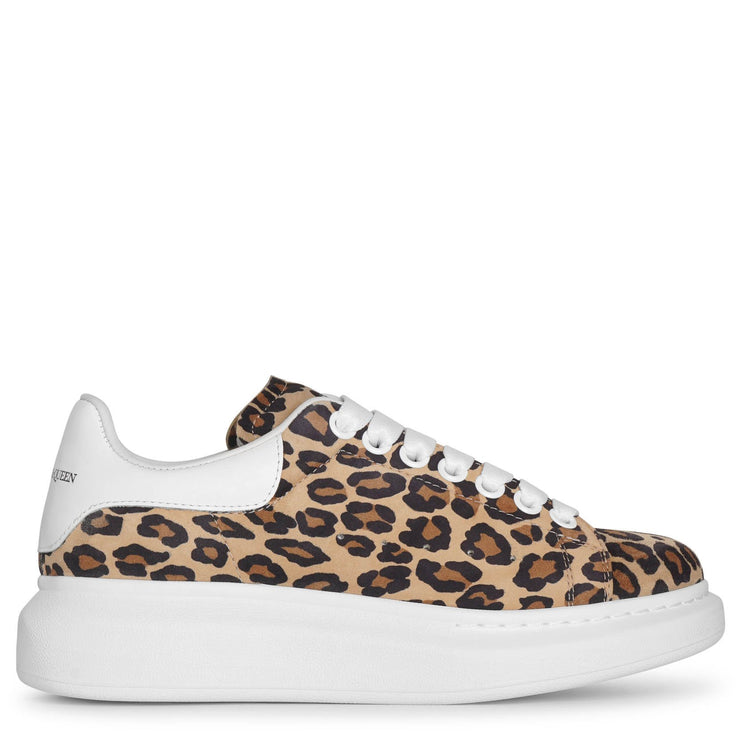 Leopard suede classic sneakers