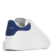 White and blue classic sneakers
