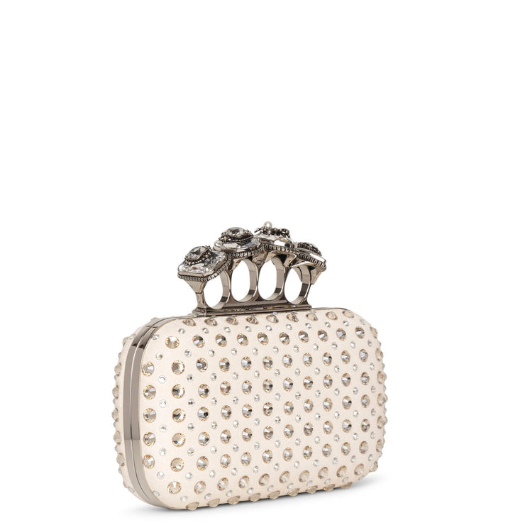 Jewelled Spider four ring clutch