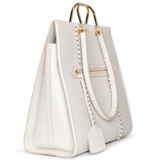 The Tall Story ivory tote bag