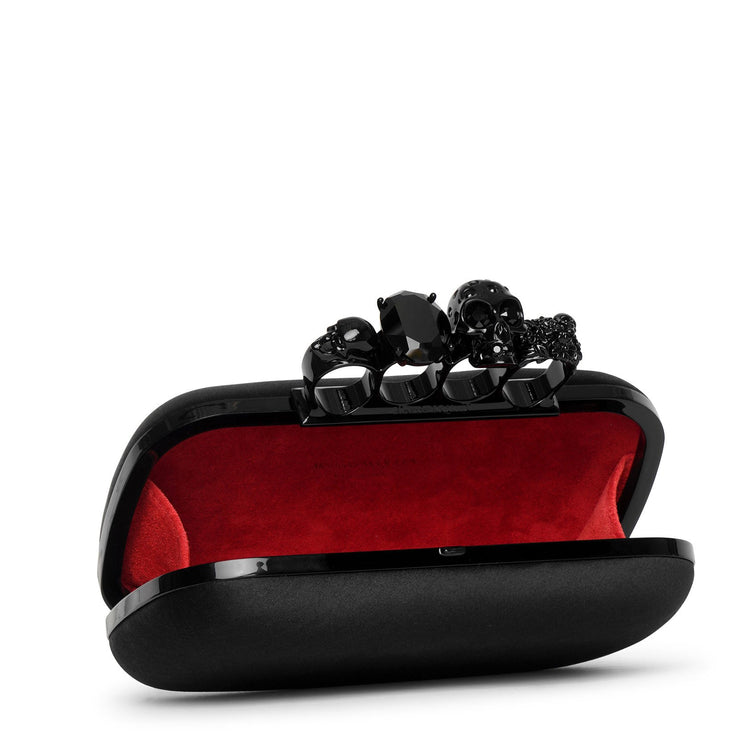 Skull four ring box clutch