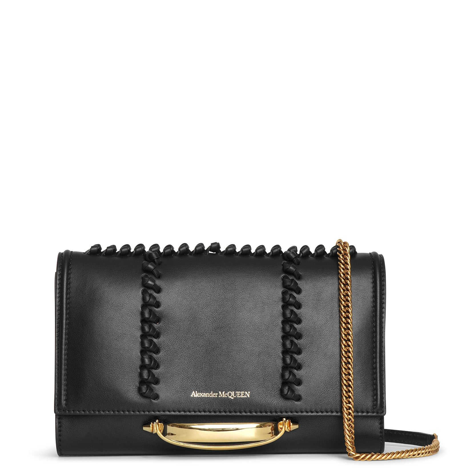 Alexander Mcqueen The Story small whipstitch crossbody bag