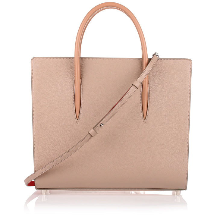 Paloma large cashmere leather tote