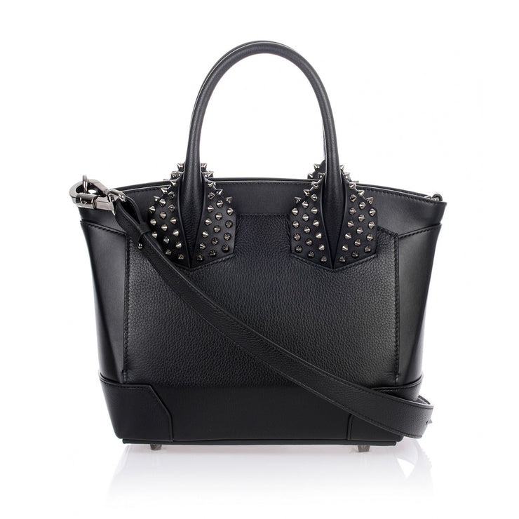 Eloise small black leather bag